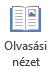 Olvasási nézet a PowerPoint-bemutató teljes képernyős olvasása, amikor nincs előadói nem alkalmas.