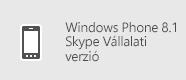 Skype Vállalati verzió – Windows Phone