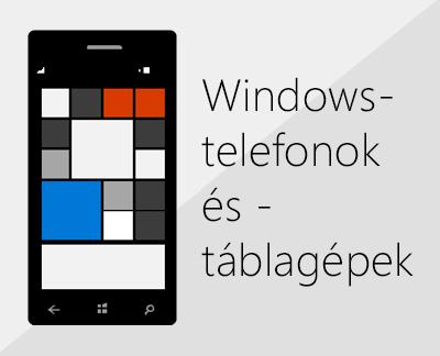 Kattintson ide, ha Windows-telefonon szeretné beállítani az Office-t és a levelezést