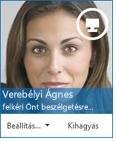 A csevegési felkérés párbeszédpaneljének képernyőképe