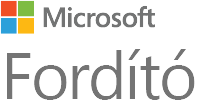 A Microsoft Translator emblémája
