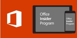 Office Insider iOS rendszerhez