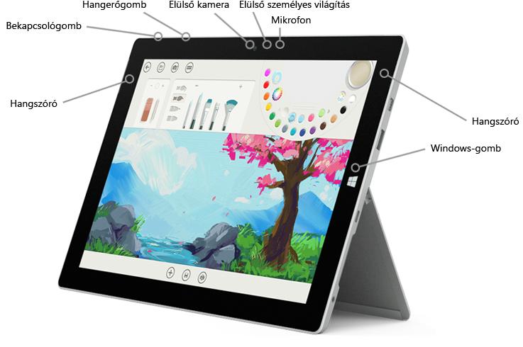 A Surface 3 első részének funkciói