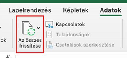 A Power Query használata a Mac Excelben