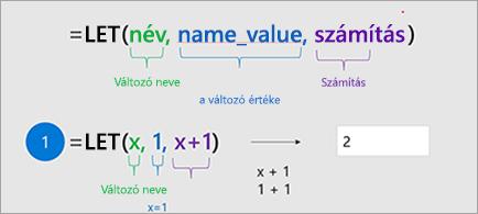 Megjeleníti a HOZZÁRENDEL függvényt az Excelben