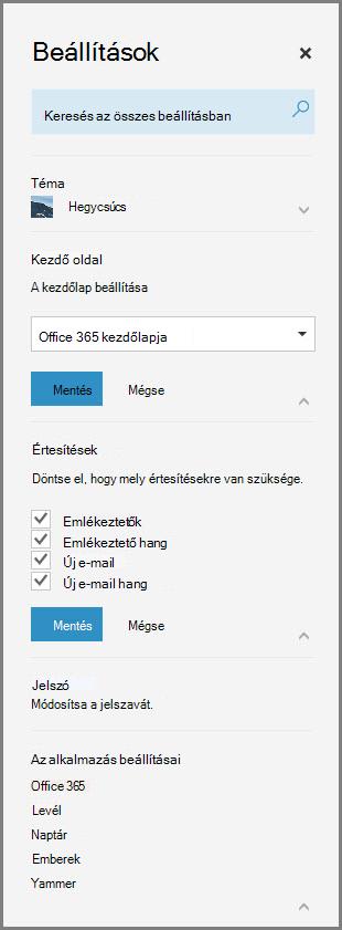 Office 365-ös értesítések