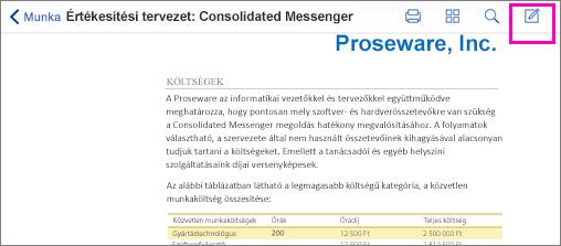 PDF – korrektúrajelölési eszköz