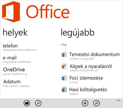 Office-központ