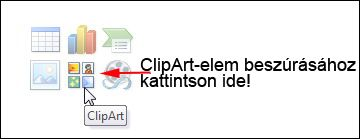 Click the Clip Art button.