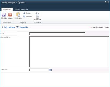 SharePoint Designer-űrlapok