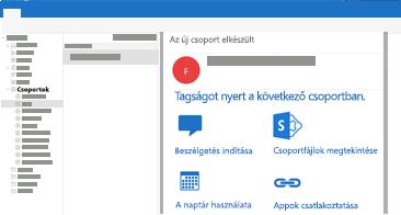 Csoportos beszélgetések megtekintése és megválaszolása a Mac Outlookban