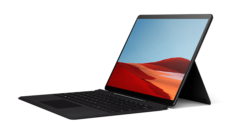 Surface Pro X eszköz fényképe