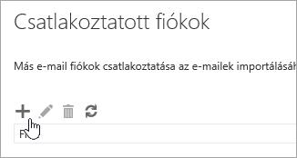 Képernyőkép az Új gombról