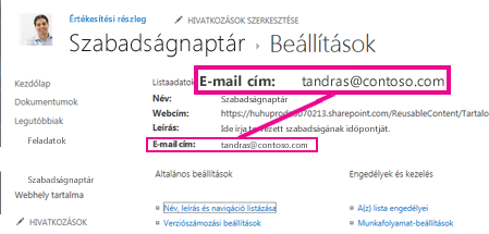 Fájlok feltöltése e-mailben