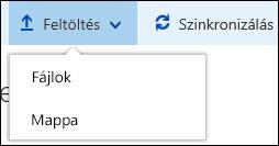 Office 365 – Mappa vagy fájlok feltöltése dokumentumtárba