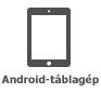 Android-táblagép ikonja