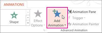 Animáció hozzáadása