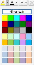 Jelöljön ki egy színt