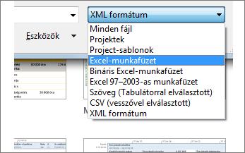 Az adatokat tartalmazó Excel-munkafüzet kiválasztása
