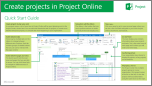 Create Projects in Project Online Quick Start Guide