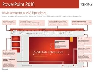Rövid útmutató a PowerPoint 2016-hoz (Windows)
