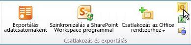 Csatlakoztatása az Outlook-parancs