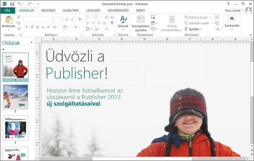 A Microsoft Publisher felfedezése