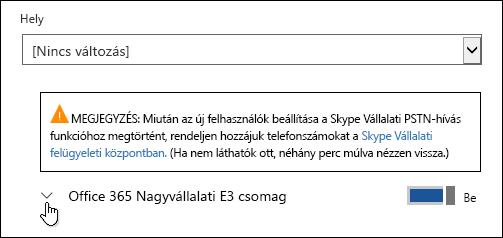 A licenc kibontása a Microsoft Forms szolgáltatás megjelenítéséhez