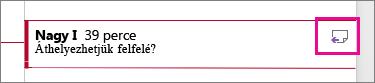 Kiemelt Válasz a megjegyzésre ikon
