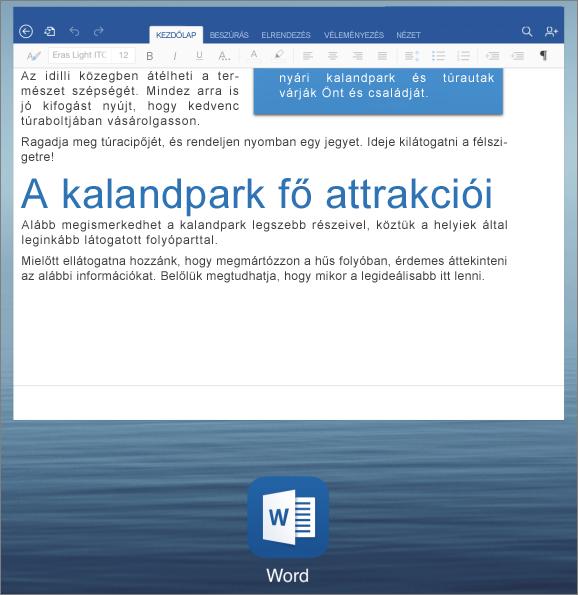 Alkalmazásváltás az iPaden