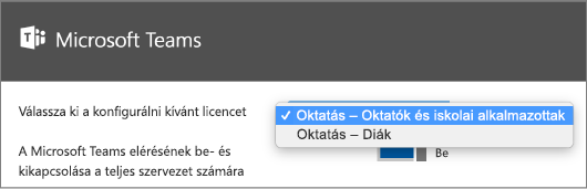 Licenckonfiguráció