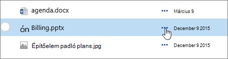 Kiemelt dokumentumtárban lévő fájl neve