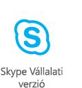 Skype Vállalati verzió – oktatás