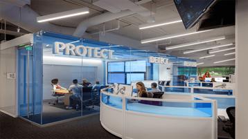 A Microsoft kibervédelmi műveleti központja