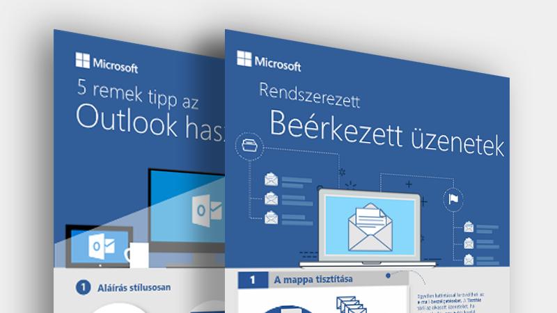 Az Outlook-infografikák letöltése