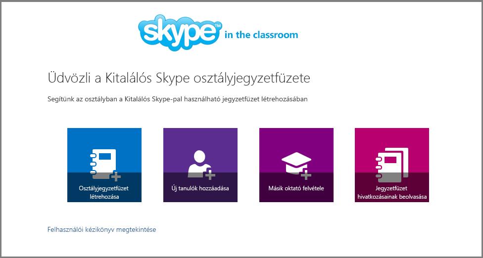 Üdvözli a Kitalálós Skype