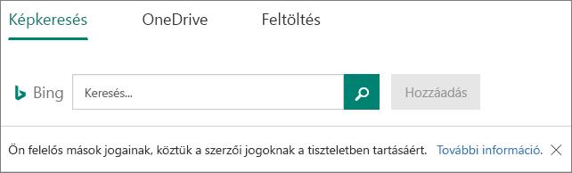 Kép beállításai a Microsoft Forms beszúrása