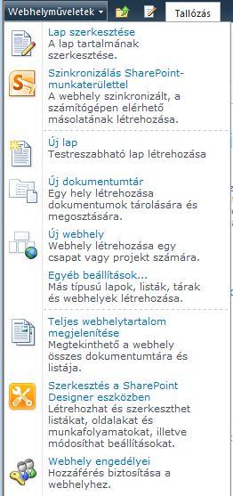 Webhely engedélyei hivatkozás