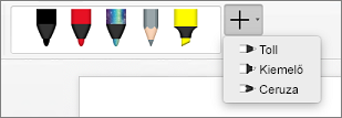 Tollak a Mac Wordben