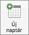 A Mac Outlook 2016 új Naptár gomb