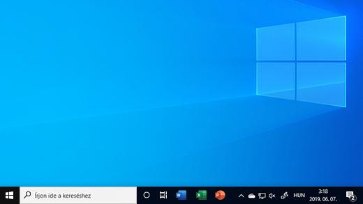 Tálca a Windows 10-ben