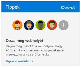 A Webhely tartalma lap Tippek ablaka