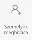 Az Android OneDrive Személyek meghívása gombja