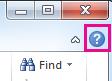 A kérdőjel ikonra kattintva megnyithatja az Office súgóját