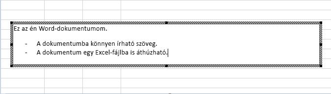 Ez a beágyazott objektum egy Word-dokumentum.