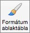 A Formátum ablaktábla gomb