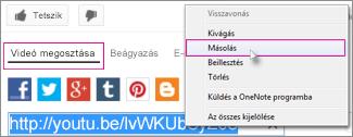 Az URL-cím másolása