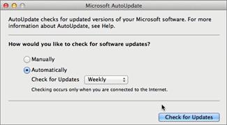 A Microsoft automatikus frissítés