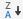 Csökkenő rendezés ikon