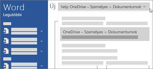 Új OneDrive